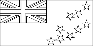 flag of uganda coloring page tuvalu flag coloring picture