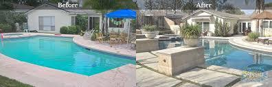 Renovate Backyard Chino Hills Pool Remodel Pool Renovation Downey