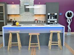 23 inspirational purple interior designs you must see big chill modern purple kitchen with blue island lighting