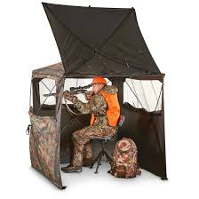 Chair Blind Reviews Guide Gear Silent Adrenaline Hunting Blind 663619 Ground Blinds