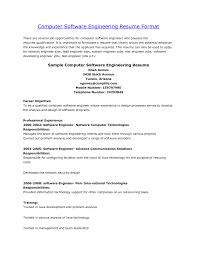 Resume Summary Examples For Software Developer by Career Objective In Resume For Experienced Software Engineer