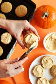 vegan pumpkin sugar cookies minimalist baker recipes