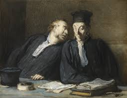 file honoré daumier two lawyers conversing google art project