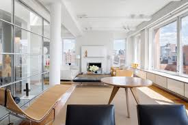 an architect u0027s penthouse with views of manhattan wsj