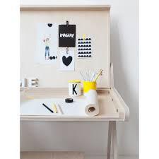 scandinavian wall clock k designer kids desk in natural wood teenagers themed kids bedrooms
