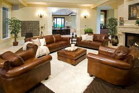 Light Colored Leather Sofa Rustic Dark Brown Leather Sofas