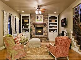 Prepossessing  Traditional Family Room Designs Inspiration - Country family room