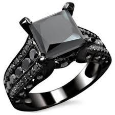black wedding ring black wedding rings for less overstock