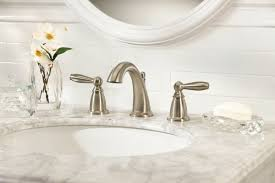 moen brantford double handle widespread standard bathroom faucet