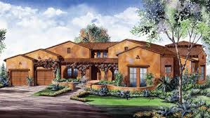 Spanish Style Floor Plans by 1999 Sunset Idea House Spanish Style Version Southern Living