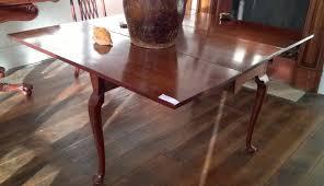 george iii pad foot dining table in cuban mahogany 1780 warwick