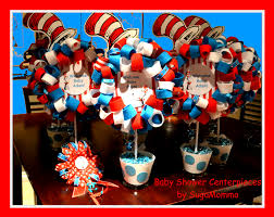 dr seuss baby shower decorations dr seuss baby shower centerpieces candy designs