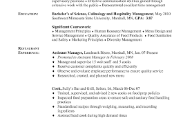 resume awesome cooking resume chef resume sample examples sous