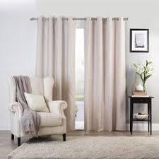 Spotlight Continuous Curtaining Gummerson Bolton Eyelet Curtain Linen 270 340 X 223 Cm