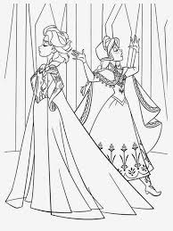 coloring pages elsa anna frozen printable coloring