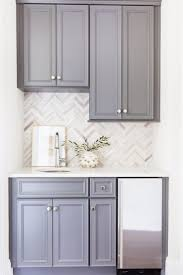 White Backsplash Kitchen Best 25 Herringbone Backsplash Ideas On Pinterest Small Granite