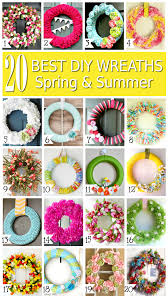 summer wreath summer diy wreaths a helicopter
