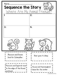 free sequencing activity for the story