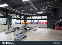 gym interior room aerobics stock photo 188522099 shutterstock