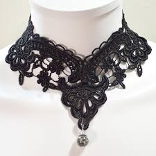 black victorian choker necklace images Lace collection gothic lace jewelry archives twisted pixies jpg