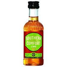 Souther Comfort Drinks Southern Comfort Lime Liqueur 50 Ml Walmart Com