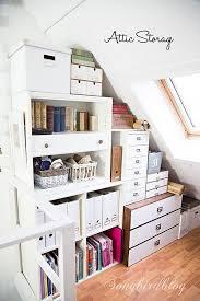 book stacking ideas 25 best attic storage ideas 2017