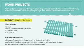 infographic how to upcycle leftover wood tile flooring