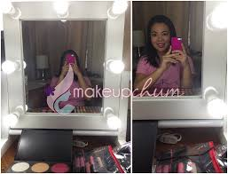 Vanity For Makeup With Lights Backstage Lighted Vanity Mirror
