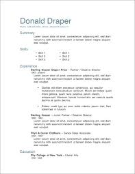 free resume exles for sle resume templates free resume templates for sles free