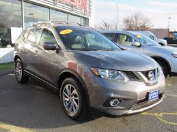 silver nissan rogue 2015 nissan rogue s in brilliant silver for sale in boston ma