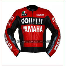 motorcycle racing jacket go yamaha red and black motorcycle racing leather jacket