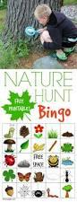nature hunt bingo nature hunt fun outdoor games and outdoor games