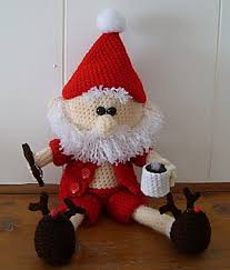 Amigurumi Christmas Ornaments - 575 best christmas santa claus images on pinterest crochet