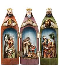 napco three wise nativity set for the home