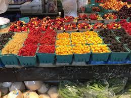 fruit displays beautiful fruit displays picture of granville island vancouver