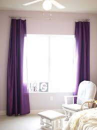 Purple Room Darkening Curtains Grey Patterned Blackout Curtains White Curtain Panels Black And