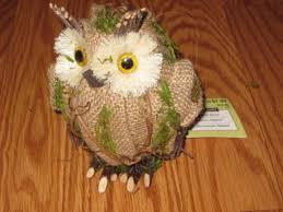 100 owl canisters china porcelain art handmade embossment