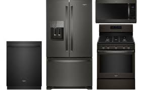 Whirlpool Black French Door Refrigerator - whirlpool 25 cu ft black stainless steel french door
