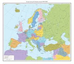 Europe Map During Ww1 by The Interwar Period By 1blomma On Deviantart