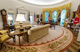 Oval Office Decor By President Trump Spending 1 75 Million On Presidential Furniture