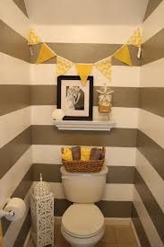 make an impression with a statement powder room home and office p