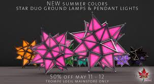new summer colors on sale star duo ground lamps and pendant