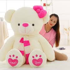 big valentines day big size teddy plush doll stuffed animal hug