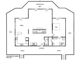 Five Bedroom Floor Plan Papa Bear U0027s Lodge Five Bedroom Home Gatlinburg Tn Booking Com