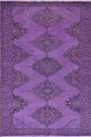 Vintage Overdyed Turkish Rugs 5x12 5 Ft 150x382 Cm Purple Vintage Overdyed Handmade Turkish