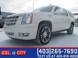 cadillac escalade calgary cadillac escalade buy or sell used and salvaged cars