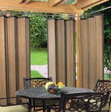 Inexpensive Patio Curtain Ideas by Best Outdoor Patio Curtain Panels Style Home Design Interior