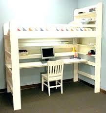 dresser with desk attached loft bed with desk and dresser bunkbed beds desks regard to attached