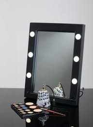 professional makeup artist lighting mw01 tsk portable mirror with bag makeup vanity mirrors cantoni