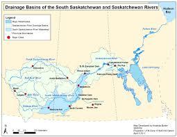 Map Of Saskatchewan South Saskatchewan River Watershed Stewards